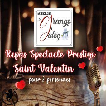 Bon Cadeau Repas spectacle prestige Saint Valentin pour 2 personnes image 2