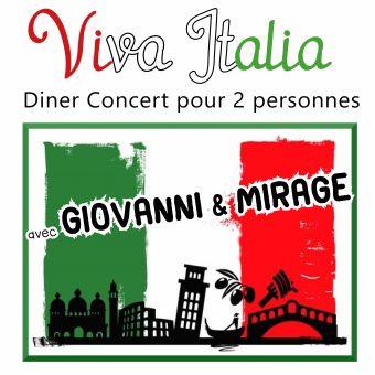 Diner Spectacle Viva italia pour 2 personnes image 4