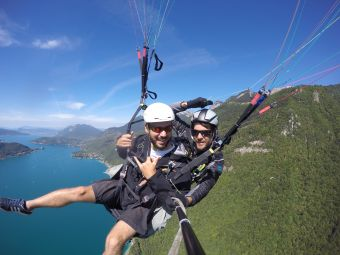 Parapente vol sensations image 1