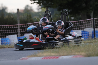 Parcours accrobranche + karting image 1