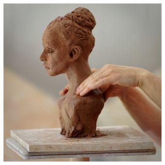 """Stage terre """"Sculpture d'un Portrait"""" image 3"""
