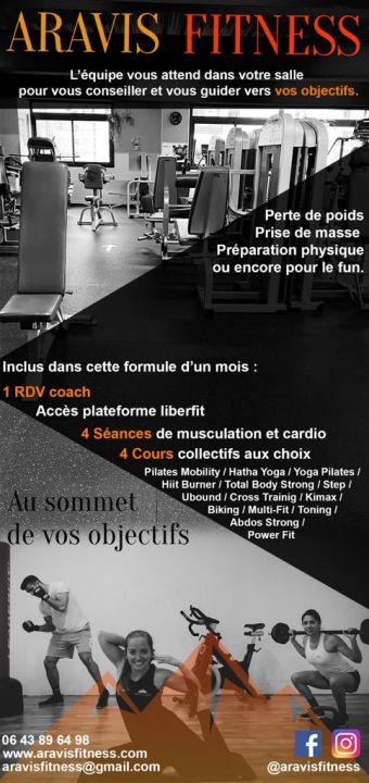 Offre Fit'n Thônes. 1 mois d'accès aux 3 centres sportifs. AQUA/FITNESS/CROSSFIT image 2