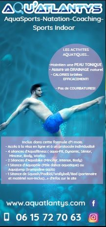 Offre Fit'n Thônes. 1 mois d'accès aux 3 centres sportifs. AQUA/FITNESS/CROSSFIT image 1