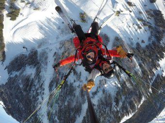 Vol parapente Hiver - La Clusaz image 4