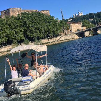2h de bateaux sans permis 7 places image 3