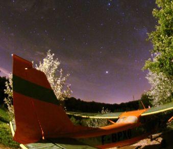 Une nuit en amoureux dans un avion Cessna et sa tour de contrôle image 6