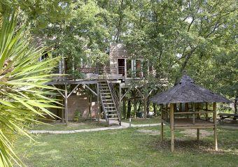 Séjour dans une cabane perchée dans les arbres image 1