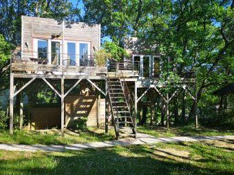 Séjour en famille dans une cabane perchée dans les arbres image 8