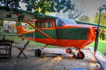 Une nuit en amoureux dans un avion Cessna et sa tour de contrôle image 4