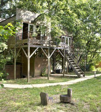 Séjour en famille dans une cabane perchée dans les arbres image 6