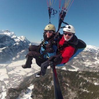Biplace hiver Acrobatique 4 Minutes sensations extremes image 1