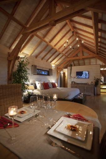 Séjour romantique - Cabane de Prestige avec Jacuzzi et Sauna privatifs image 9