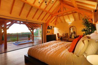 Séjour romantique - Cabane de Prestige avec Jacuzzi et Sauna privatifs image 3