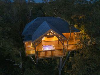 Cabane de Prestige avec Jacuzzi et Sauna privatifs cover