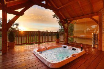 Séjour romantique - Cabane de Prestige avec Jacuzzi et Sauna privatifs image 5