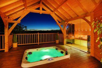 Séjour romantique - Cabane de Prestige avec Jacuzzi et Sauna privatifs image 11