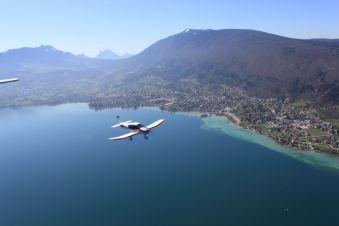 Baptême de l'air en Avion - Circuit lac d'Annecy (20 min) image 1