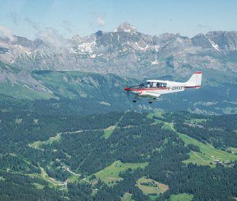 Baptême de l'air en avion - Circuit Aravis (30 min) image 1