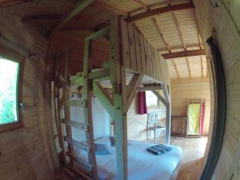 1 nuit en cabane du Funambule image 3