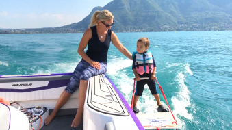 Session de Baby Ski Nautique image 1