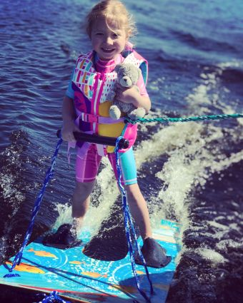 Session de Baby Ski Nautique image 3