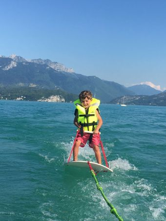 Session de Baby Ski Nautique image 2