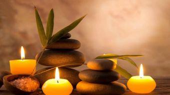 Massage aux pierres chaudes image 1