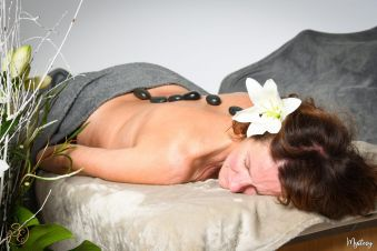 Massage aux pierres chaudes image 3