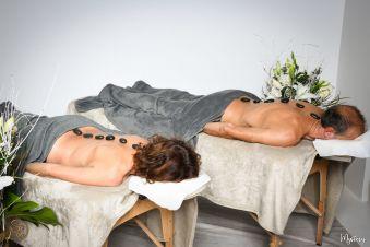 Massage Duo à l'huile chocolatée image 2