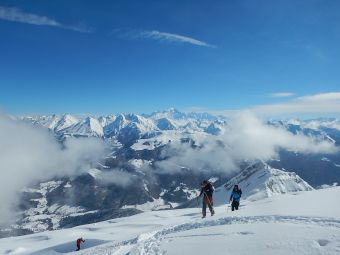 Ski de randonnée dans les Aravis image 2