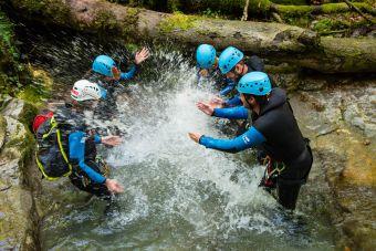 Canyoning Sportif à Montmin image 2