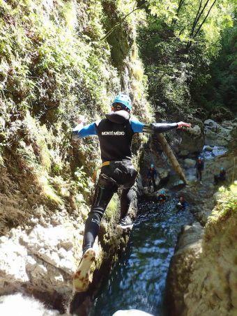 Canyoning Sportif à Montmin image 1