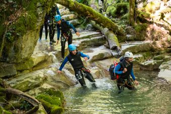 Canyoning Perfectionnement Angon image 2