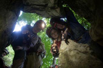 Spéléologie Découverte des Grottes de Balme image 1