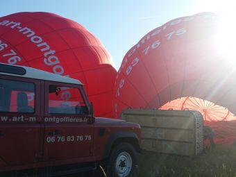 Vol en montgolfière en Val de Loire - Billet Weekend 1 personne image 2