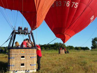 Vol en montgolfière en Val de Loire - Billet Weekend 1 personne image 4