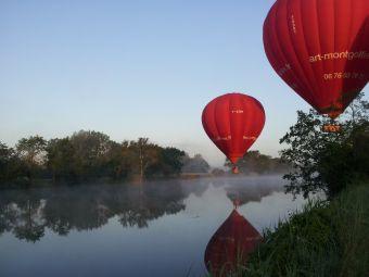 Vol en montgolfière en Val de Loire - Billet Semaine 1 personne image 1