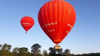Vol en montgolfière en Val de Loire - Billet Weekend 1 personne image 1