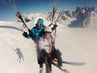 Vol parapente 3848 m sommet de l'Aiguille du Midi image 5