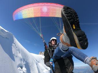 Vol parapente 3848 m sommet de l'Aiguille du Midi image 6