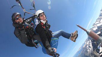 Vol parapente 3848 m sommet de l'Aiguille du Midi image 4