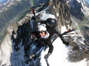 Vol parapente 3848 m sommet de l'Aiguille du Midi image 2
