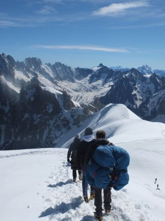 Vol parapente 3848 m sommet de l'Aiguille du Midi image 1