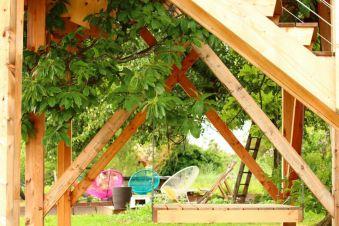 Séjour insolite en Cabane Perchée chez un paysan vigneron dans le vignoble de Château Chalon image 2