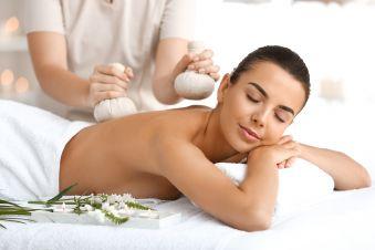 Massage Celtique aux pochons de sel de Guérande (1h) image 3