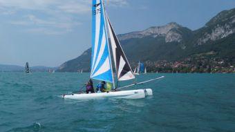 Location d'un catamaran (1 heure) image 2