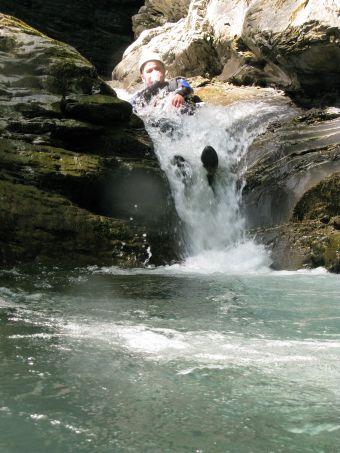 Parcours canyoning Aquatique (demi-journée) image 4