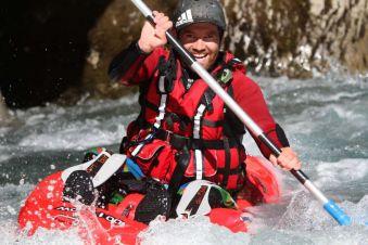 Descente Play & Run en open kayak 1h30 image 1