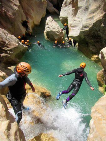 Parcours canyoning Aquatique (demi-journée) image 2
