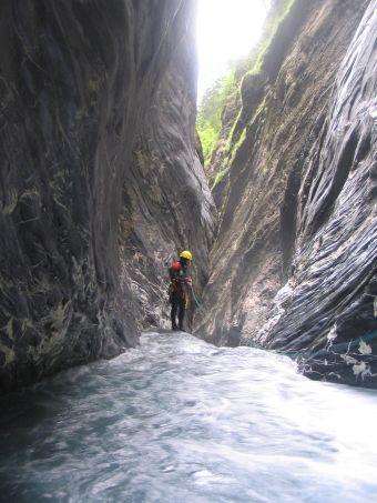 Parcours canyoning Alpin (demi-journée) image 4